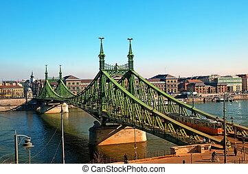 ponte, budapest, liberdade