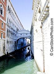 Venezia - Italia - Ponte dei Sospiri di Venezia - Italia
