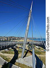 Ponte del Mare Pescara - Bellissimo ponte ciclopedonale che ...