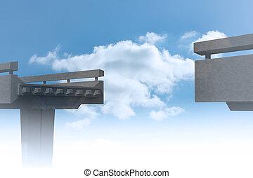 ponte, incompiuto
