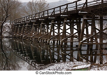 ponte, inverno