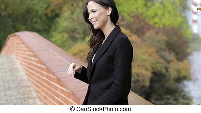 ponte, mulher