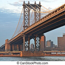 ponte, new york, manhattan, stati uniti