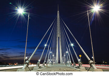 ponte, notte