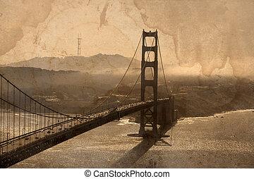ponte porta dorato
