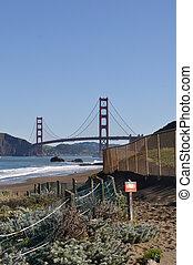 ponte porta dorato, san francisco, california