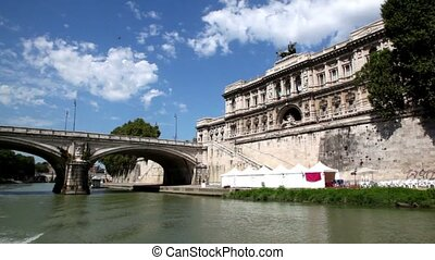 Ponte Umberto I and Edifice of The Supreme Court of...
