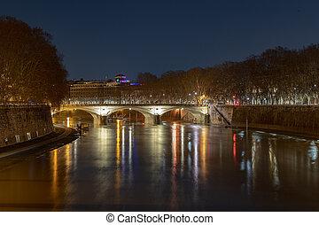Ponte Umberto I - Rome, Italy