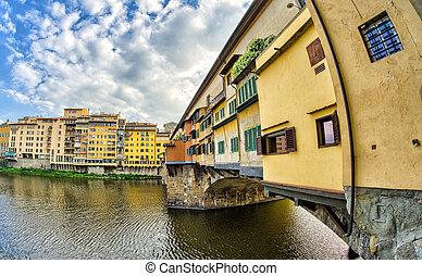 Ponte Vecchio, Firenze - Italy. Old Bridge in Florence