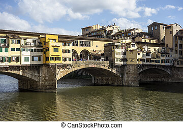 Ponte Vecchio (Old Bridge) in Florence