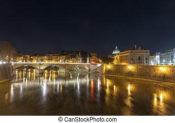Ponte Vittorio Emanuele II - Rome, Italy