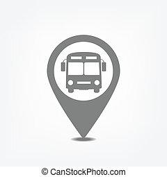 ponto ônibus, ponteiro