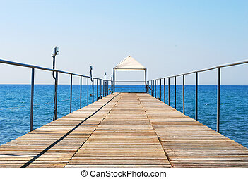 Pontoon Bridge to the Sea