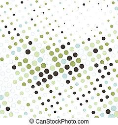 pontos, abstratos, fundo, coloridos, negócio
