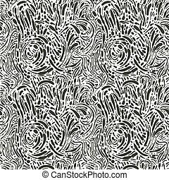 pontos, abstratos, vetorial, seamless, fundo