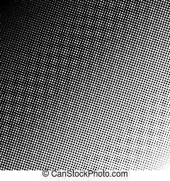 pontos, gradiente, óptico, linear