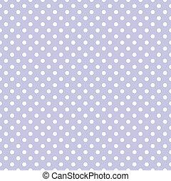 pontos, padrão, vetorial, polca, violeta