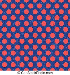 pontos polka, seamless, fundo