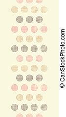 pontos, vertical, vindima, polca, seamless, têxtil, padrão experiência, borda