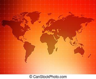 pontozott, világ