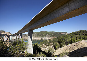 ponts, ferroviaire, autoroute