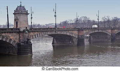 ponts, rivers.