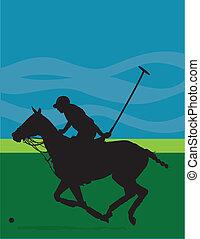 pony polo, silhouette