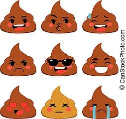 poo, emoji