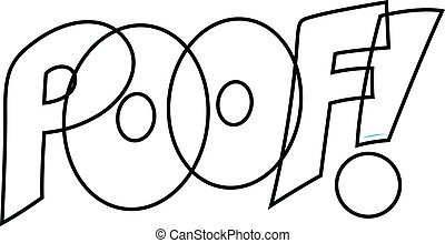 Poof Comic Vector