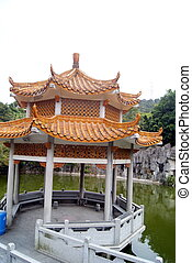 Pool and leisure pavilion