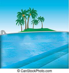 Pool Background