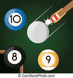 pool billiard hobby play game