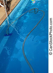 Pool cleaning maintenance