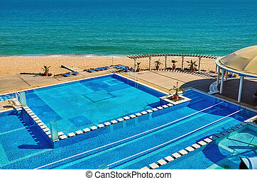 Pool Complex on the Shore