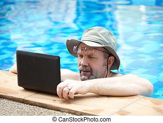 pool., człowiek