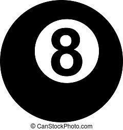 Pool Eight ball