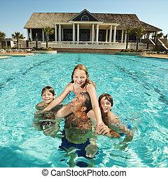 pool., familia