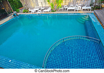 Pool for adult and children, family pool