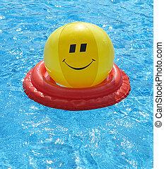 Pool fun concept