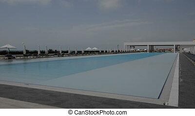 pool hôtel, natation