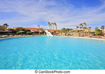 Pool in Egypt resort
