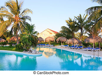 Pool in Sol Cayo Largo. - Pool in hotel Sol Cayo Largo....
