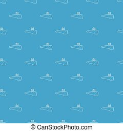 Pool pattern vector seamless blue