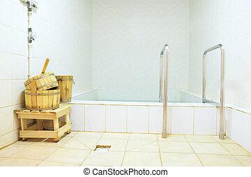 pool, stoomcabine