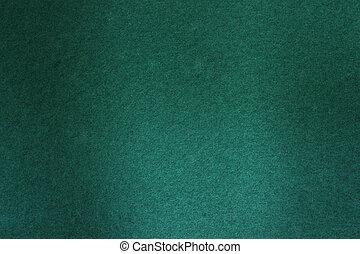 Pool table felt - Green felt used on a pool table to be used...