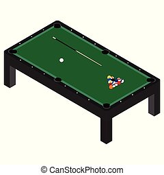 Pool Table Clipart And Stock Illustrations 3701 Vector