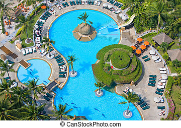 Pool view from the top