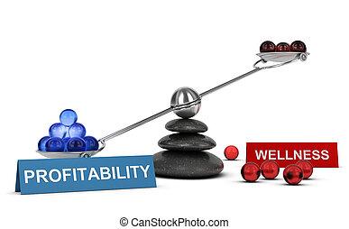 3D illustration, Business or Marketing concept, horizontal image
