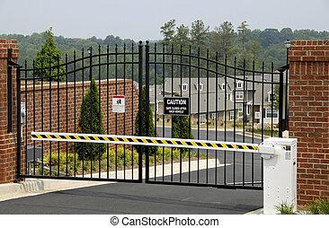 poort, veiligheid