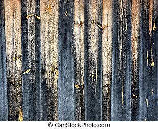 poorten, houten textuur, achtergrond, versleten, oud